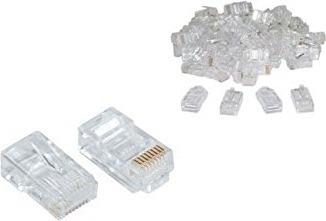 """MUFA RJ-45 GEMBIRD pt. cablu UTP, Cat5e, RJ-45 (T), plastic, 50 buc, """"LC-8P8C-001/50"""""""