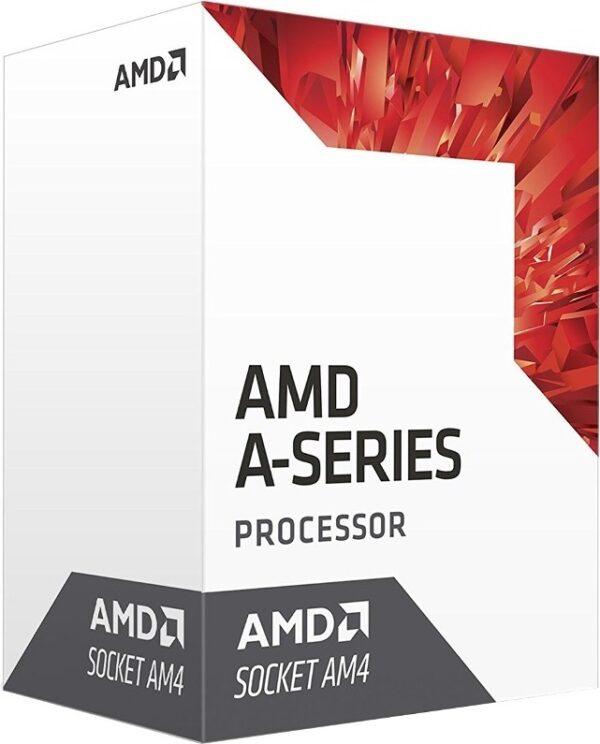 """CPU AMD, skt. AM4 A-Series, 9600 APU, frecventa 3.1 GHz, turbo 3.4 GHz, 4 nuclee, putere 65 W, cooler, """"AD9600AGABBOX"""" (include TV 0.15 lei)"""
