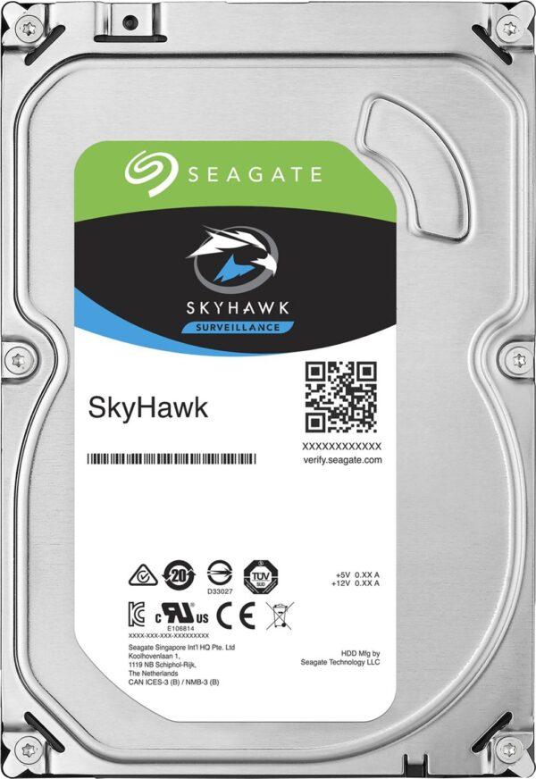 """HDD SEAGATE 1 TB, SkyHawk, 5.900 rpm, buffer 64 MB, pt. supraveghere, """"ST1000VX005"""""""