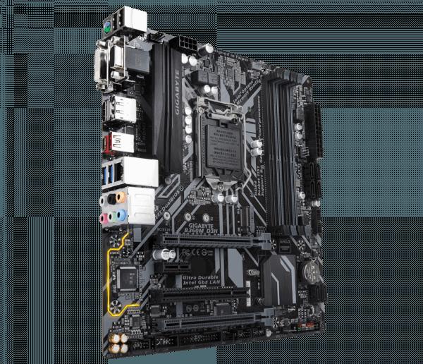 Placa de baza GIGABYTE skt. LGA1151, B360M D3H, 4*DDR4 DIMM 2666/2400/2133 MHz, 1x HDMI/ DVI-D/ D-Sub/ DP, 1x PCIEx16, 1x PCI Express x1, 1x PCI Express x16 slot, running at x4 (PCIEX4), 6x USB3.1, 6x USB2.0, 6 x SATA 6Gb/s, mATX