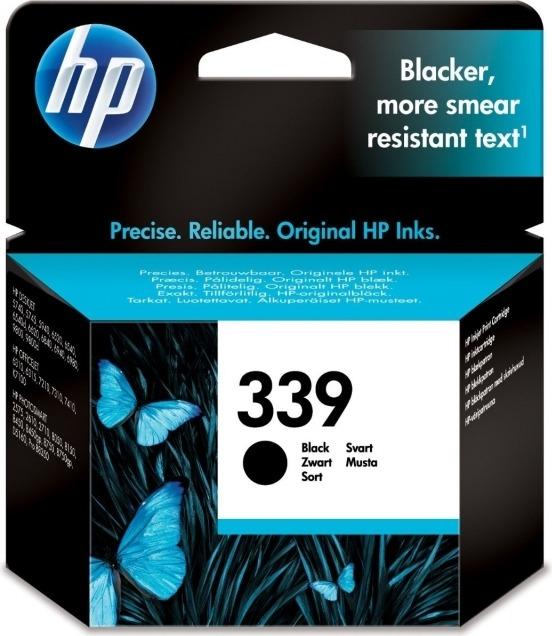 "Cartus Cerneala Original HP Black, nr.339, pentru DJ5740 574x 65xx OJ2570 8050 84xx 87xx PSC1610 23xx, , incl.TV 0.11 RON, ""C8767EE"""