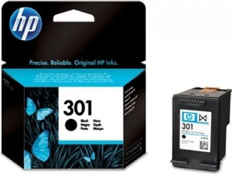 "Cartus Cerneala Original HP Black, nr.301, pentru DJ1000|1050|1055|2050|3050, , incl.TV 0.11 RON, ""CH561EE"""