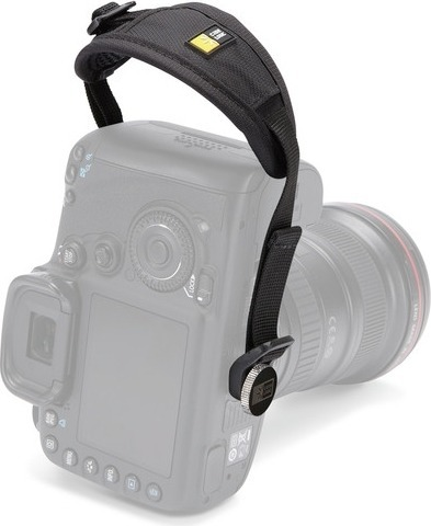 "CUREA de mana CASE LOGIC pt. camera foto DSLR, ajustabila, nylon, black, ""DHS101″/3201648"