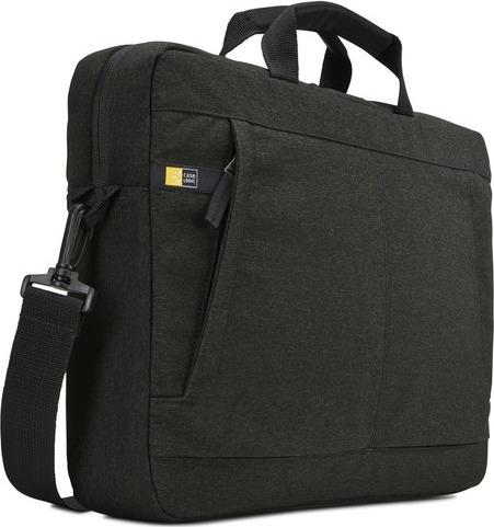 """GEANTA CASE LOGIC, pt. notebook de max. 15.6″, 1 compartiment, buzunar frontal x 2, waterproof, poliester, negru, """"Huxton"""", """"HUXA-115 BLACK"""" / 3203129"""