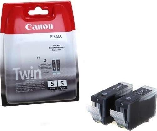 "Cartus Cerneala Original Canon Black, PGI-5B, pentru Pixma IP3300|IP3500|IP4200|IP4300|IP4500|IP5200|IP5300|IX4000|IX5000|MP500|MP510|MP520|MP530|MP600|MP610|MP800|MP810|MP830, , incl.TV 0.11RON, ""BS0628B025AA"""