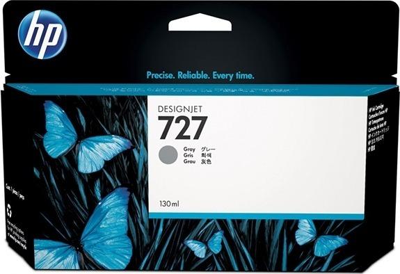 "Cartus Cerneala Original HP Gray, nr.727, pentru DesignJet T1500 T1530 T2500 T2530 T920, 130ml, incl.TV 0.11 RON, ""B3P24A"""