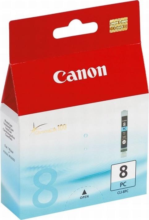 "Cartus Cerneala Original Canon Ph Cyan, CLI-8PC, pentru IP6700 Pro 9000, , incl.TV 0.11 RON, ""BS0624B001AA"""