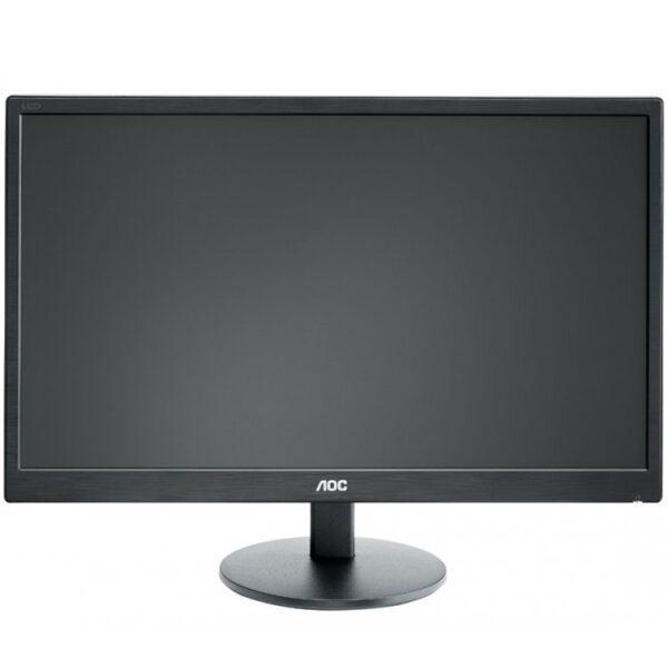 """MONITOR AOC 21.5″, home, office, TN, Full HD (1920 x 1080), Wide, 200 cd/mp, 5 ms, VGA, DVI, """"E2270SWDN"""" (include TV 5 lei)"""