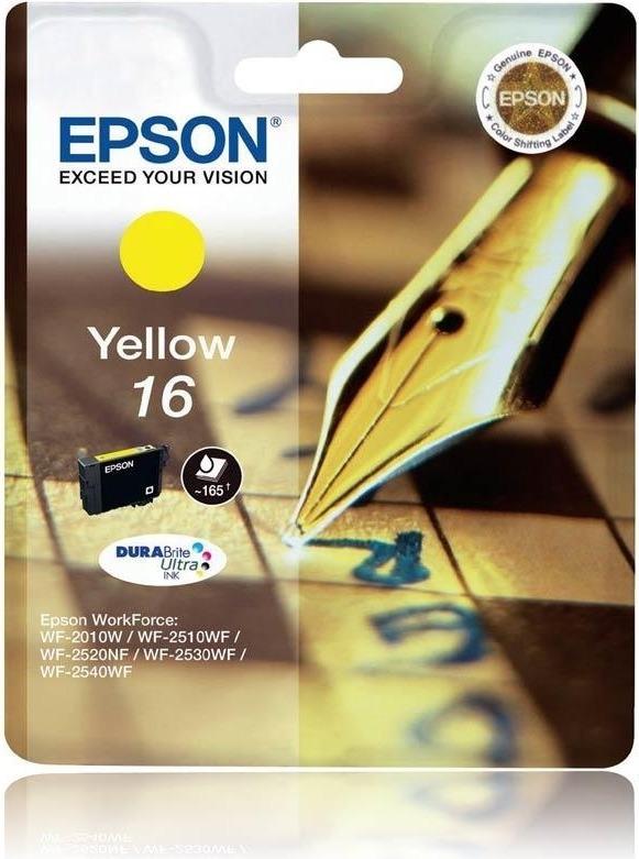 "Cartus Cerneala Original Epson Yellow, T1624, pentru WF2540, , incl.TV 0.11 RON, ""C13T16244010"""