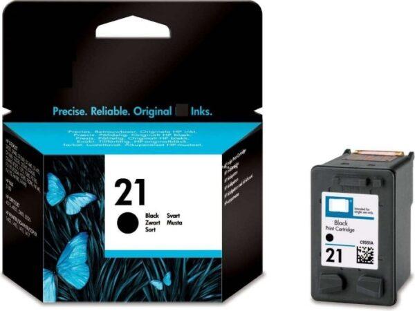 "Cartus Cerneala Original HP Black, nr.21, pentru DJ3920 3940 D1360 14xx F2180 2275 22xx, , incl.TV 0.11 RON, ""C9351AE"""