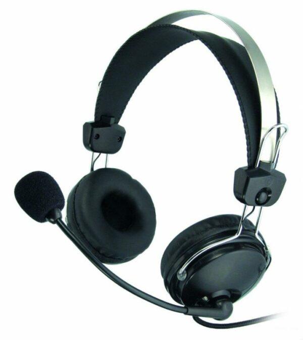 """CASTI A4TECH cu microfon pe casca, Comfortfit, control volum pe fir, """"HS-7P"""""""