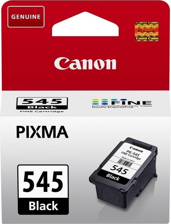 "Cartus Cerneala Original Canon Black, PG-545XL, pentru Pixma IP2850 MG2450 MG2455 MG2550 MG2550S MG2950 MG3050 MG3051 MG3052 MG3053 MX495 Black MX495 White TR4550 TS205 TS305 TS3150 TS315, , incl.TV 0.11 RON, ""BS8286B001AA"""
