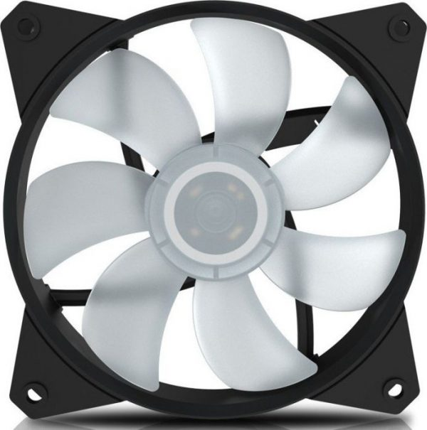 "VENTILATOR COOLER MASTER PC 120x120x25mm, ""MasterFan MF121L RGB"", 32CFM, ideal cooler CPU, silentios ""R4-C1DS-12FC-R2"""