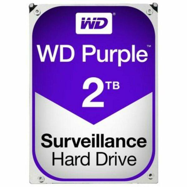 """HDD WD 2 TB, Purple, 5.400 rpm, buffer 64 MB, pt. supraveghere, """"WD20PURZ"""""""