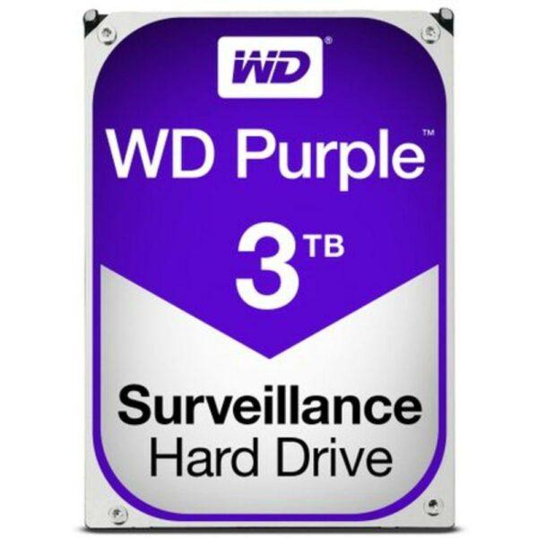 """HDD WD 3 TB, Purple, 5.400 rpm, buffer 64 MB, pt. supraveghere, """"WD30PURZ"""""""