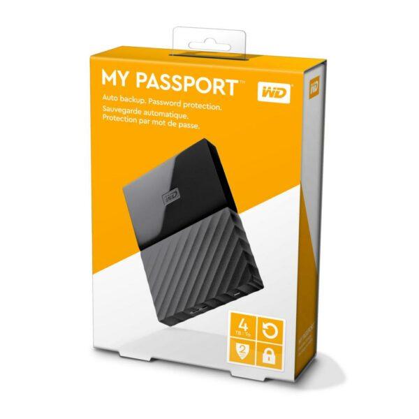 """HDD extern WD 4 TB, My Book, 3.5 inch, USB 3.0, negru, """"WDBBGB0040HBK-EESN"""""""