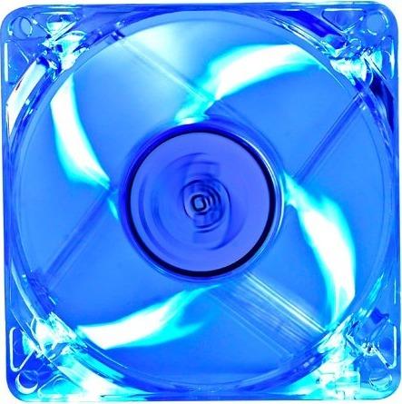 """VENTILATOR DEEPCOOL PC 80x80x25 mm, blue led, """"Xfan 80L"""" 187 001 001 / 150938.9"""