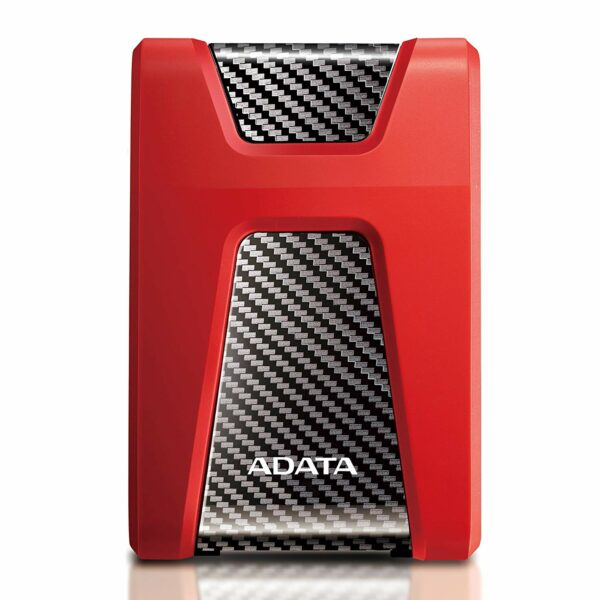 "HDD ADATA EXTERN 2.5″ USB 3.1 2TB HD650 Red & Black ""AHD650-2TU31-CRD"" (include TV 0.15 lei)"