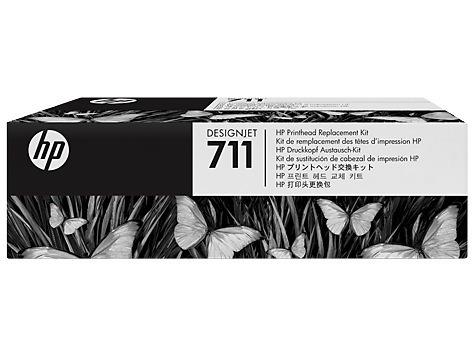 "Cap Printare Original HP CMYK, nr.711, pentru Designjet T120 T520, , incl.TV 0.11 RON, ""C1Q10A"""
