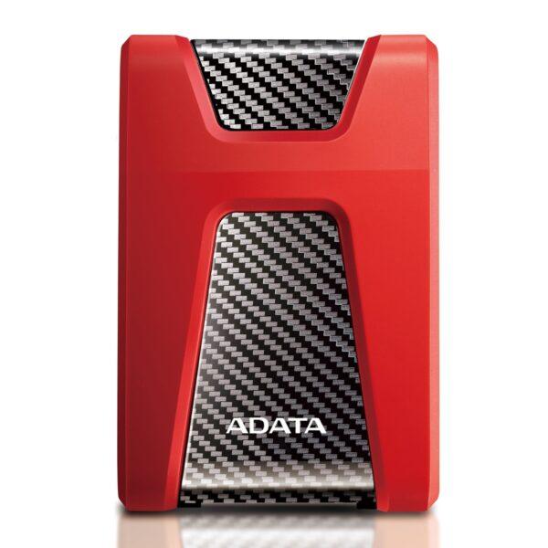 "HDD ADATA EXTERN 2.5″ USB 3.1 1TB HD650 Red & Black ""AHD650-1TU31-CRD"" (include TV 0.15 lei)"