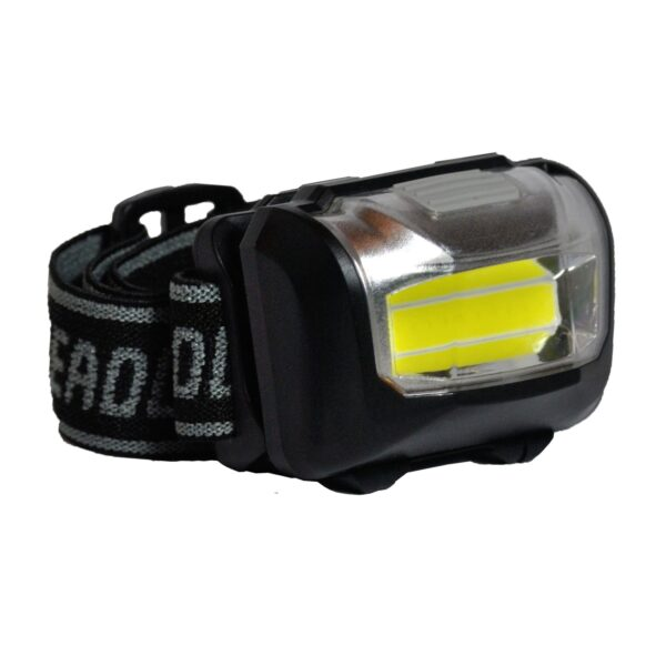 "LANTERNA LED SPACER headlamp (3W COB) high power/low power/strobe/off, battery:3 x AAA ""SP-HLAMP"" (include TV 0.15 lei)"