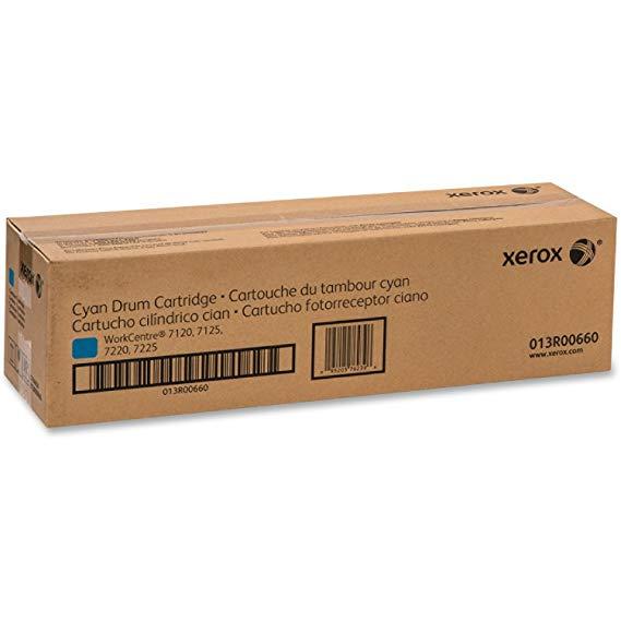 "Drum Unit Original Xerox Cyan, 013R00660, pentru WC 7120 7125, 51K, incl.TV 0.8 RON, ""013R00660"""