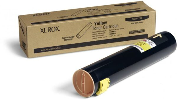 "Toner Original Xerox Yellow, 106R01162, pentru Ph 7760DN|Ph 7760DX|Ph 7760GX, 25K, incl.TV 0.55RON, ""106R01162"""