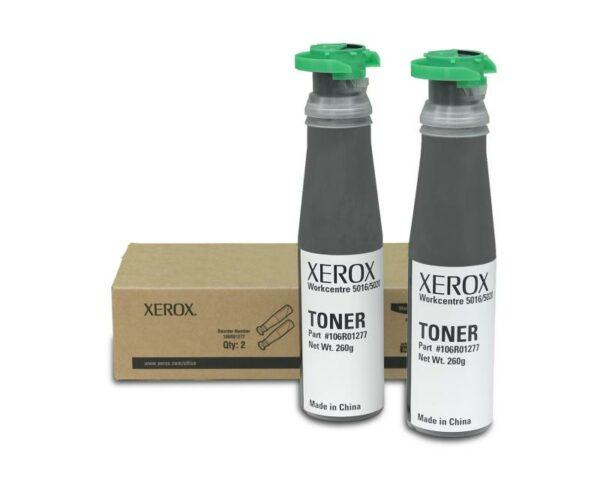 """Dual-Pack Original Xerox Black, 106R01277, pentru WC 5016 WC 5020, 2×6.3K, incl.TV 0.8 RON, """"106R01277"""""""