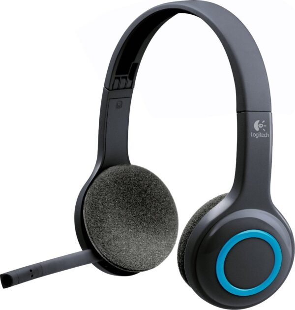 """CASTI Logitech, """"H600"""", wireless, standard, utilizare multimedia, call center, microfon pe brat, conectare prin 2.4 GHz (WiFi), USB 2.0, negru, """"981-000342"""", (include TV 0.75 lei)"""