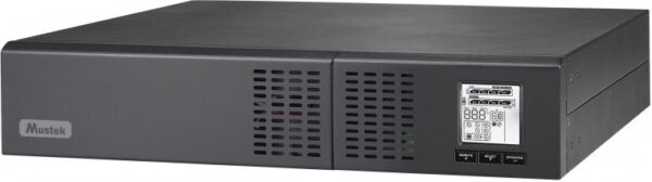 "UPS MUSTEK Line Int. cu Sinusoida Pura, 1500VA/ 1350W, AVR, 8 x socket IEC, display LCD, 4 x baterie 12V/7Ah, Backup 4.5-12min, incarc.4h, con. USB, RS232, combo RJ45, tower/rack 2U,""PowerMust 1500 NetGuard""""1500-LCD-LIS-R20″ (include TV 23 lei)"
