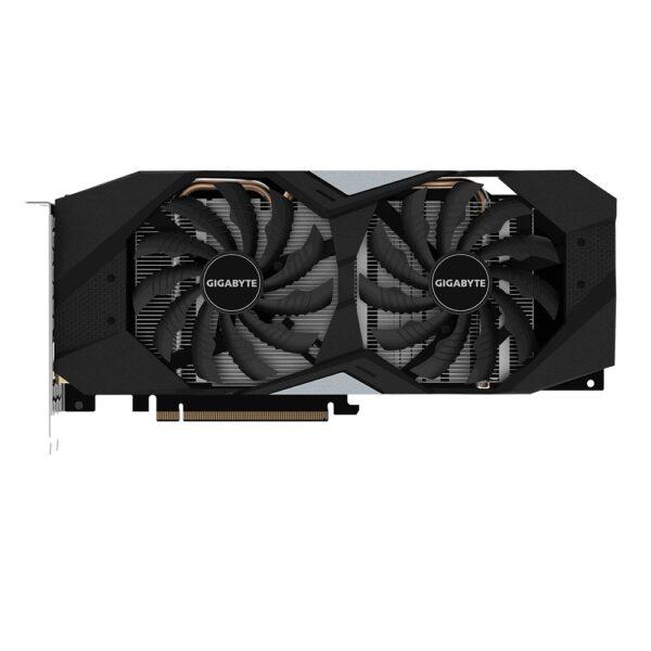 "PLACA VIDEO GIGABYTE NVIDIA GeForce RTX 2060 Windforce OC 6G, 6 GB GDDR6 192 biti, PCI Express 3.0 x 16, HDMI, Display Port x 3, sistem racire aer activ, ""N2060WF2OC-6GD"""