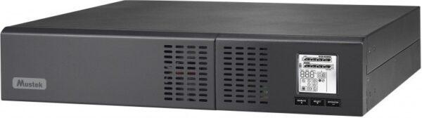 "UPS MUSTEK Line Int. cu Sinusoida Pura, 3000VA/ 2700W, AVR, 8 x socket IEC, display LCD, 6 x baterie 12V/7Ah, Backup 3.5-12min, incarc.4h, con. USB, RS232, combo RJ45, tower /rack 2U,""PowerMust 3000 NetGuard""""3000-LCD-LIS-R20″ (include TV 23 lei)"