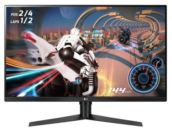 "MONITOR LG 31.5″, gaming, VA, WQHD (2560 x 1440), Wide, 400 cd/mp, 1 ms, HDMI x 2, DisplayPort, ""32GK850F-B"" (include TV 5 lei)"