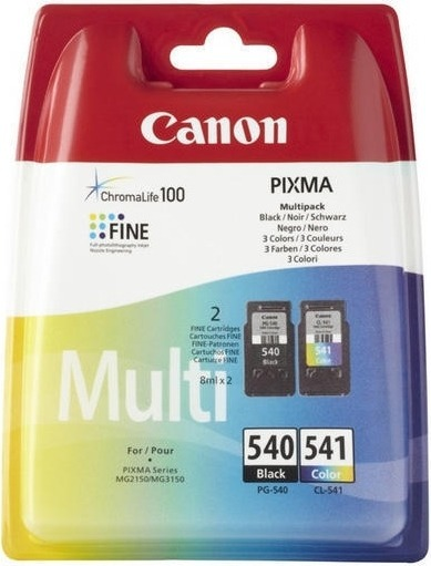 """Combo-Pack Original Canon Black/Color, PG-40/CL-41, pentru Pixma IP1200 IP1300 IP1600 IP1700 IP1800 IP1900 IP2200 IP2500 IP2600 MP140 MP150 MP160 MP170 MP180 MP190 MP210 MP220 MP450, , incl.TV 0.11 RON, """"BS0615B043AA"""""""