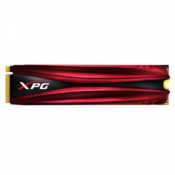 """SSD ADATA, XPG. GAMMIX S10, 256 GB, M.2, PCIe Gen3.0 x4, 3D TLC Nand, R/W: 1370/820 MB/s, """"ASX7000NPC-256GT-C"""""""