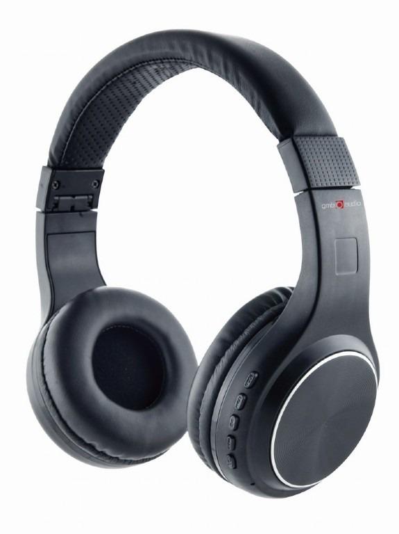 "CASTI Gembird, ""Warszawa"", wireless, cu fir, standard, utilizare multimedia, smartphone, microfon pe casca, conectare prin Bluetooth 4.2, Jack 3.5 mm, negru, ""BHP-WAW"", (include TV 0.75 lei)"