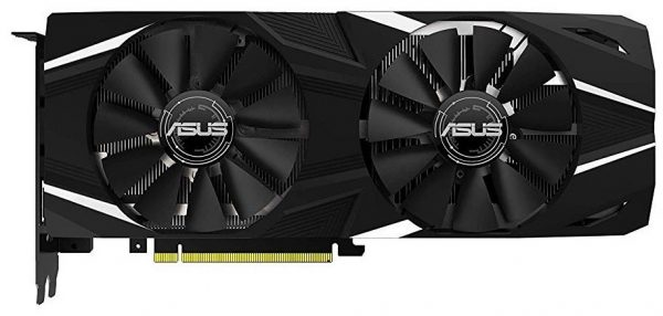 Placa video ASUS NVIDIA GeForce RTX 2080Ti, DUAL-RTX2080Ti-O11G, PCI-E 3.0, 11GB GDDR6, 352 bit, CUDA Core: 4352, 1x HDMI, 3x Display Port, HDCP, USB Type-C Support:Yes x1