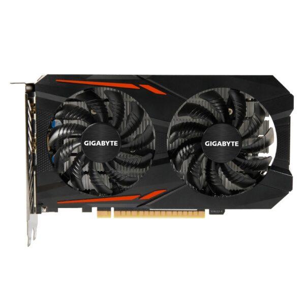 "PLACA VIDEO GIGABYTE NVIDIA GeForce GTX 1050 Ti OC 4G, 4 GB GDDR5 128 biti, PCI Express 3.0 x 16, HDMI, DVI, Display Port, sistem racire aer activ, ""N105TOC-4GD"""