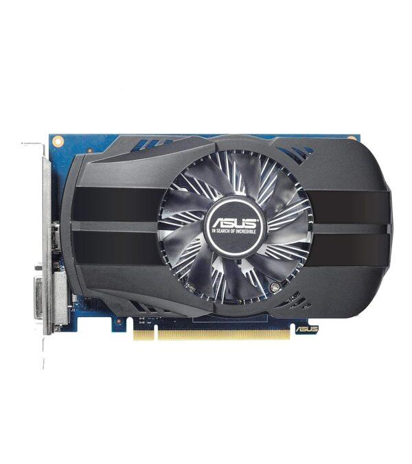 "PLACA VIDEO ASUS NVIDIA Phoenix GeForce GT 1030 OC, 2 GB GDDR5 64 biti, PCI Express 3.0 x 8, HDMI, DVI, sistem racire aer activ, ""PH-GT1030-O2G"""