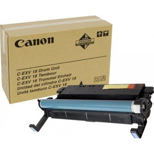 "Drum Unit Original Canon Black, EXV18, pentru IR 1018|1018J|1020|1020J|1022A|1022F|1022I|1022IF|1024A|1024F|1024I|1024IF, 26.9K, incl.TV 0.8 RON, ""CF0388B002AA"""