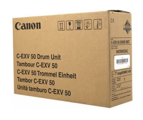 "Drum Unit Original Canon Black, EXV50, pentru IR 1435|1435I|1435IF, 35K, incl.TV 0.55RON, ""CF9437B002AA"""