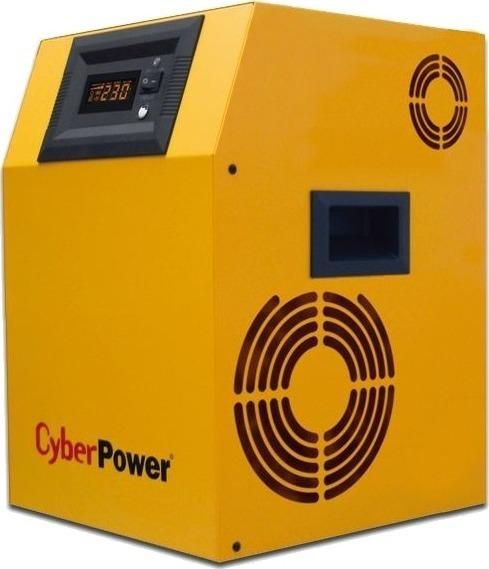 "UPS CYBER POWER Inverter (pt. motoare, pompe etc.), Sinusoida Pura, 1500VA/ 1050W, AVR, 2 x socket Shucko & 1 x Terminal Block, fara baterie, display LCD, functioneaza cu baterie de 24V, seria EPS, ""CPS1500PIE"" (include TV 8 lei)"