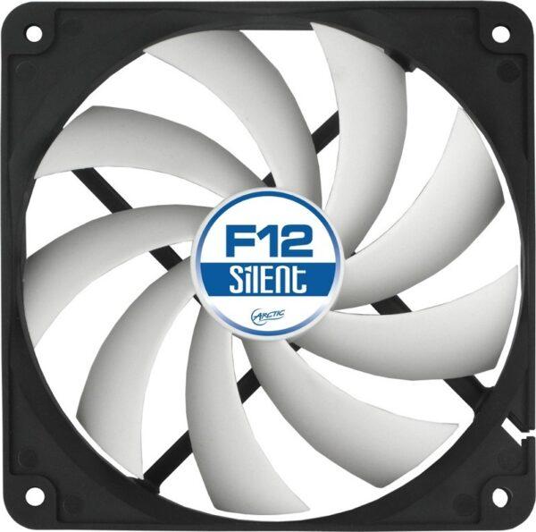 "VENTILATOR ARCTIC PC 120x120x25 mm, ""F12 Silent"", low noise FD bearing ""ACFAN00202A"""
