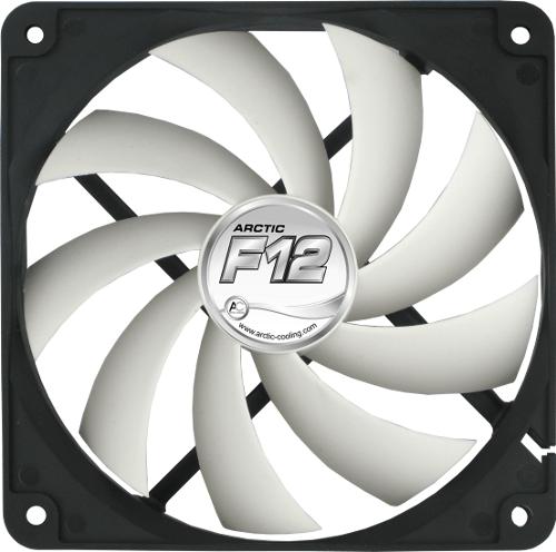 "VENTILATOR ARCTIC PC 120x120x25 mm, ""F12 "", low noise FD bearing ""ACFAN00201A"""
