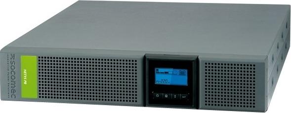"UPS SOCOMEC Line Int. cu Sinusoida Pura, rack/tower, 3300VA/ 2700W, AVR, 8+1 x socket IEC, display LCD, 6 x baterie 72V/9Ah, Backup 6min, incarc.8h, USB, RS232, combo RJ45, tower/rack 2U, fan,""Netys PR RT 3300VA""""NPR-3300-RT""(incl.timbru verde10lei)"