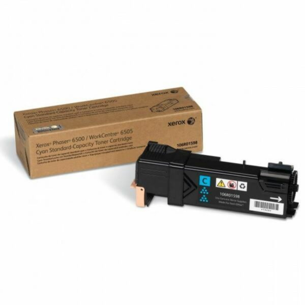 "Toner Original Xerox Cyan, 106R01598, pentru Ph 6500|WC 6505, 1K, incl.TV 0.55RON, ""106R01598"""