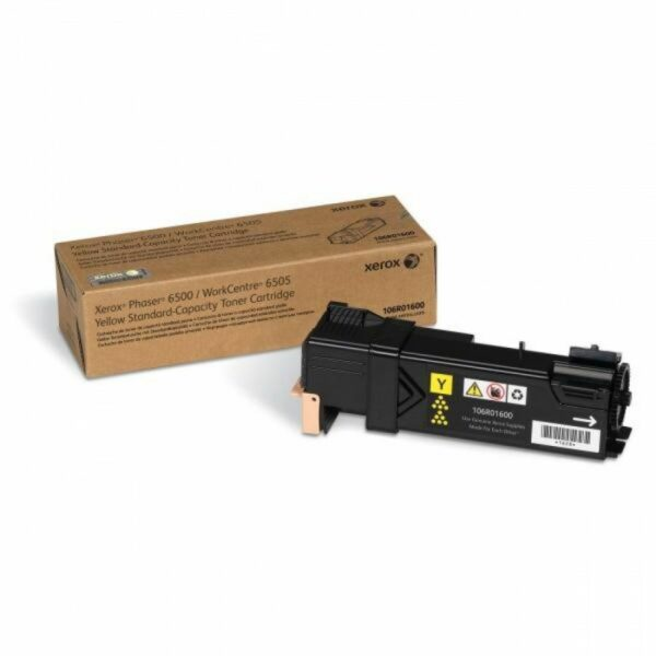 "Toner Original Xerox Yellow, 106R01600, pentru Ph 6500|WC 6505, 1K, incl.TV 0.55RON, ""106R01600"""