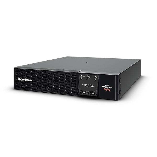 """UPS CYBER POWER Line Int. cu Sinusoida Pura, rack, 2200VA/ 2200W, AVR, 8 x socket IEC, display LCD, 4 x 12V/9Ah, Backup 3-10min, incarc.8h, USB, RS232, combo RJ45, GreenPower, seria PR,""""PR2200ERTXL2U"""" (include TV 23 lei)"""