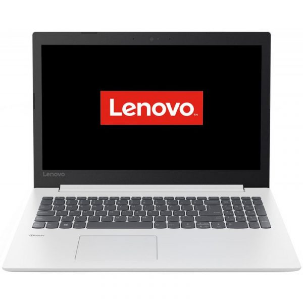 "Notebook Lenovo, 15.6″, Ryzen 5 2500U, 8 GB DDR4, SSD 256GB, AMD Radeon Vega 8, partajata, Free DOS, tastatura numerica, 2.0 – 2.5 Kg, alb,""81D2008MRM"