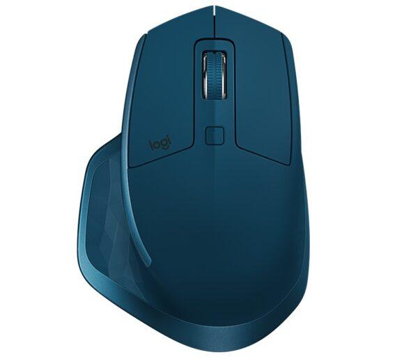 "MOUSE LOGITECH PC sau NB, wireless, 2.4 GHz, laser, 4000 dpi, butoane/scroll 7/1, albastru, Unifying Receiver, ""MX Master 2S"" ""910-005140"" (include TV 0.15 lei)"